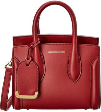Alexander McQueen Heroine 21 Mini Leather Satchel