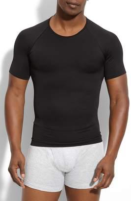 Spanx R) 'Zoned Performance' Compression Crewneck T-Shirt
