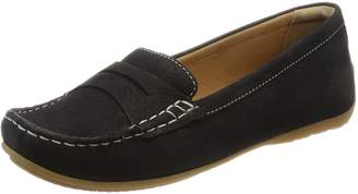La Redoute Clarks Womens Doraville Nest Leather Loafers Size 38