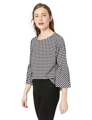 J.Crew Mercantile Women's Flannel Peplum Top