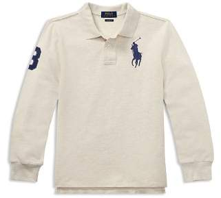 Ralph Lauren Boys' Classic Fit Cotton Mesh Polo - Big Kid