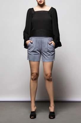 Nisse Black Lace Top