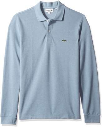 Lacoste Men's Short Sleeve Pique Classic Fit Chine Polo Shirt, L1313