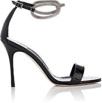 Manolo Blahnik Women's Annesaba Patent Leather Sandals