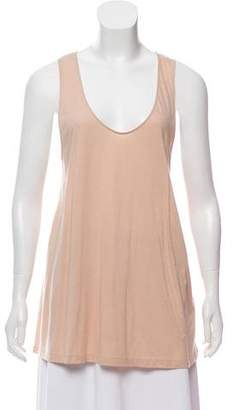 Helmut Lang Sleeveless Scoop Neck Top w/ Tags