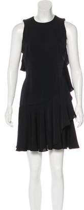 Alexander McQueen Mini Ruffled Dress