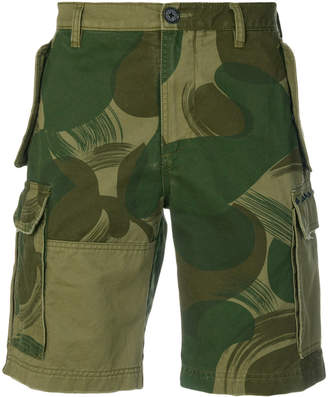 Zadig & Voltaire Panama camouflage shorts