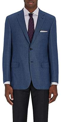 Brioni Men's Ravello Neat Wool Two-Button Sportcoat