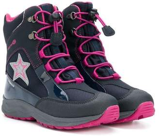 Geox Kids lace-up ankle boots