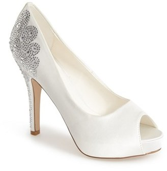 Women's Menbur 'Angelina' Peep Toe Pump $115.95 thestylecure.com