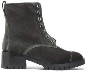 3.1 Phillip Lim Velvet Boots