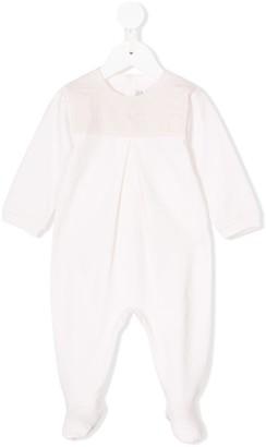 Christian Dior stitch detail pyjama