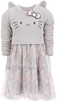 Hello Kitty Toddler Girls Embroidered Dress