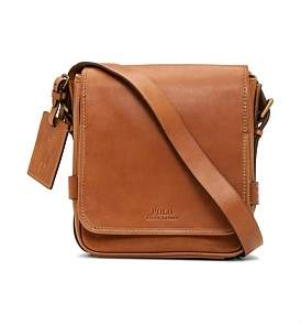 Polo Ralph Lauren Smooth Leather Reporter Bag