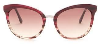 Tom Ford Emma 56mm Cat Eye Sunglasses
