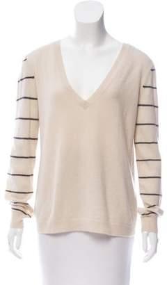 Inhabit Cashmere V-Neck Sweater