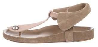 Isabel Marant Suede Ankle-Strap Sandals
