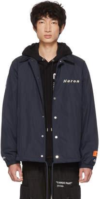 Coach Heron Preston Blue Style Jacket
