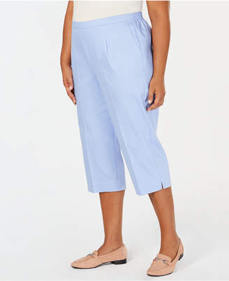 079b783c8ef at Macy s · Alfred Dunner Turtle Cove Plus Size Pull-On Capri Pants