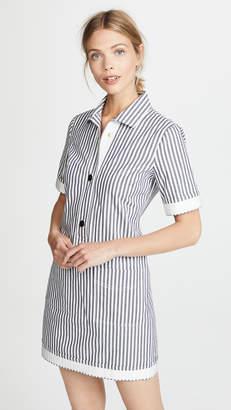 Derek Lam 10 Crosby Utility Shirt Dress