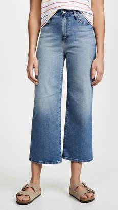 AG Jeans Etta Wide Leg Crop Jeans