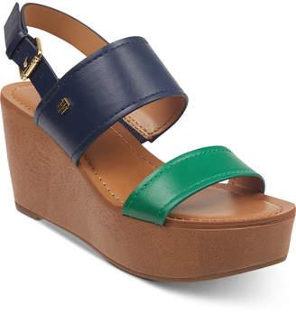 87bdb2b13736 Tommy Hilfiger Wilder Wedges Women Shoes