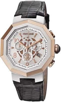 Roberto Cavalli Men's Silver Watch