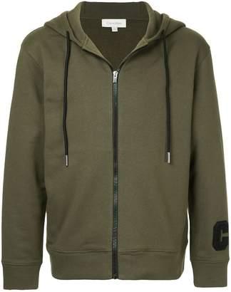 CK Calvin Klein zipped hooded jacket