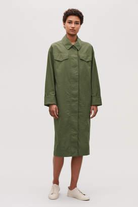 Cos LONG JACKET DRESS