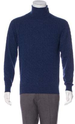 Brunello Cucinelli Knit Cashmere Turtleneck Sweater