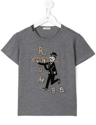 Dolce & Gabbana trombonist patch T-shirt