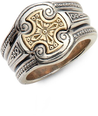 Konstantino Stavros Cross Signet Ring