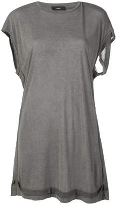 Diesel open back jersey top