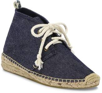 Soludos Women's Demi-Wedge Canvas Espadrille Booties