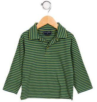 Oscar de la Renta Boys' Long Sleeve Polo Shirt