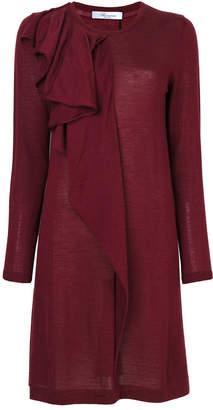 Blumarine frilled dress