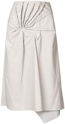 Drome tie knot skirt
