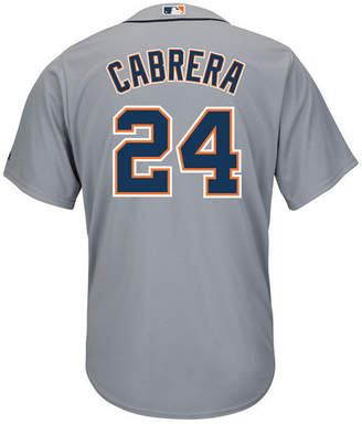 Majestic Men Miguel Cabrera Detroit Tigers Player Replica Cb Jersey