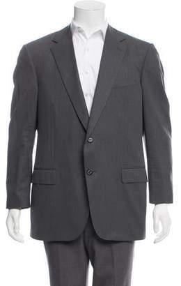 Caruso Striped Wool Blazer