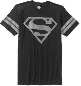 DC Superman Men's Logo Graphic Tee, up to Size 3XL