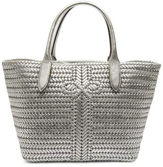 Anya Hindmarch Neeson Woven Leather Tote Bag