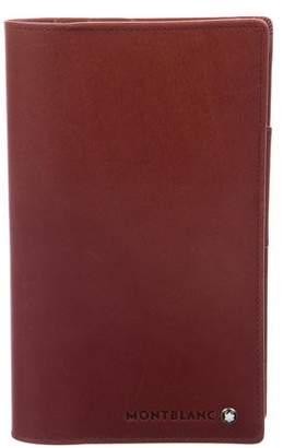 Montblanc Leather Vertical Agenda