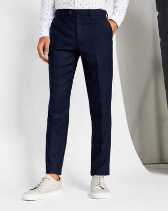 Ted Baker GLENTRO Textured wool trousers