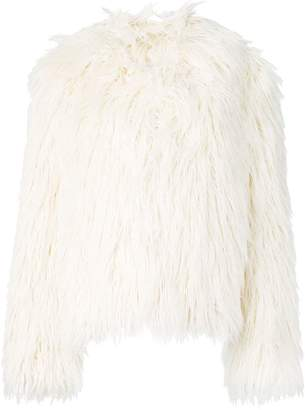Faith Connexion faux-fur jacket