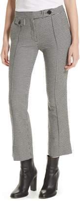 Derek Lam 10 Crosby Flare Leg Crop Trousers