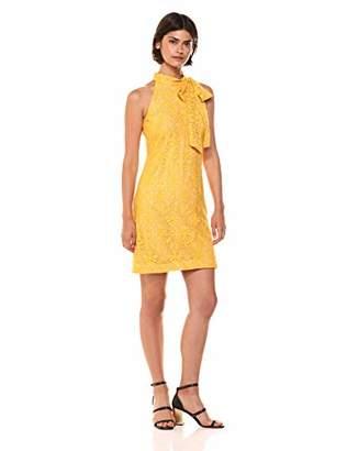 Vince Camuto Women's Lace Halter Bow Dress