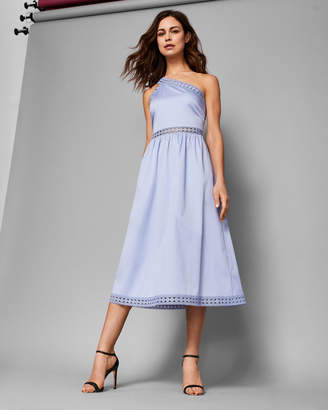 Ted Baker KALLII Asymmetric cotton dress