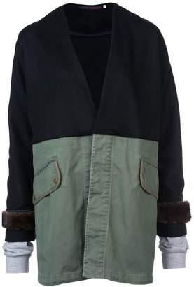 Harvey Faircloth panelled jacket