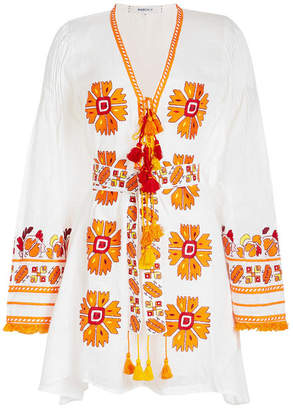 MARCH11 Kelly Linen Mini Dress