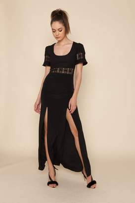 Stone_Cold_Fox Stone Cold Fox Seymour Gown Black